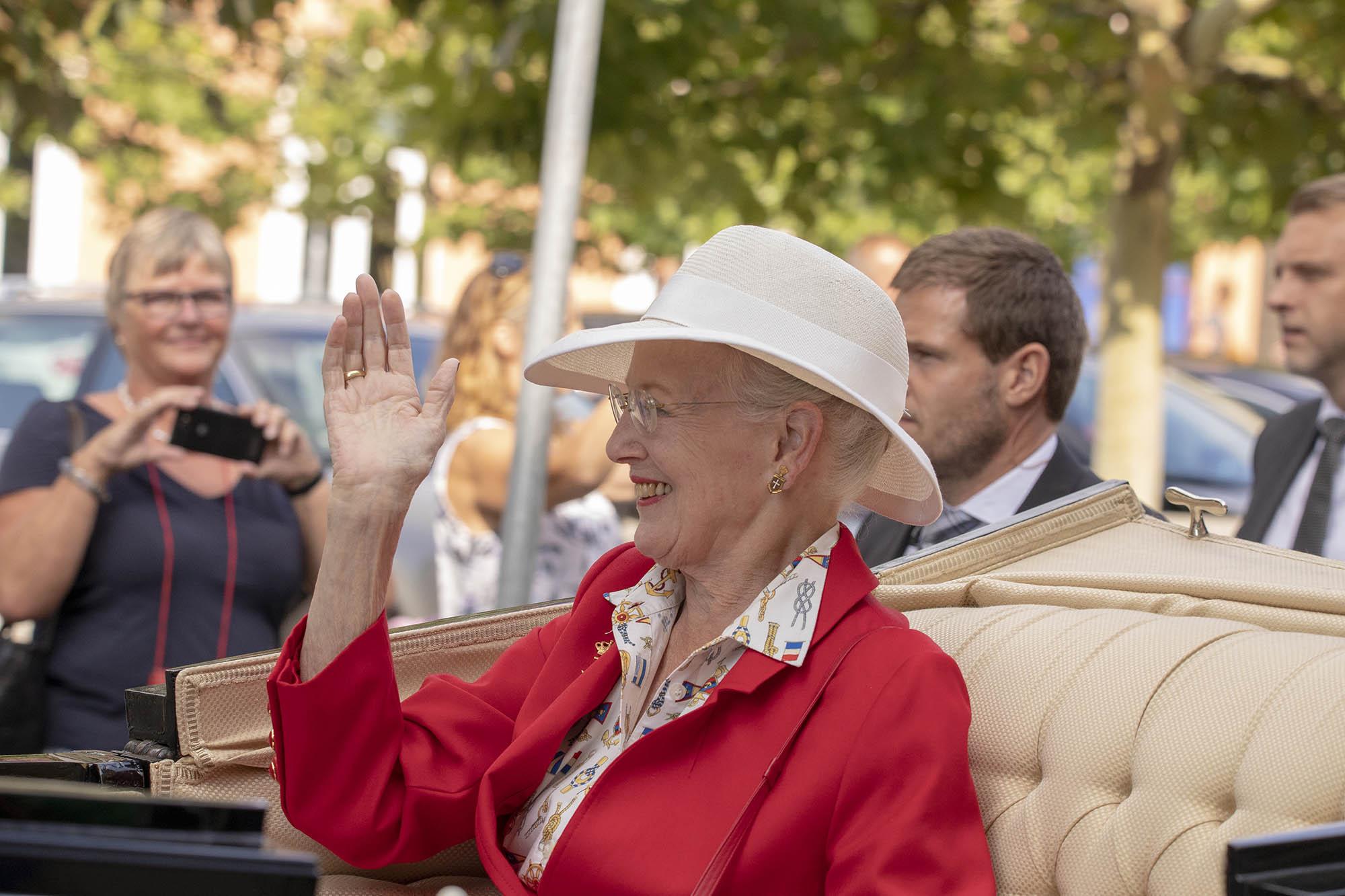 Dronning Margrethe besøger Svendborg 6-7 september 2018.