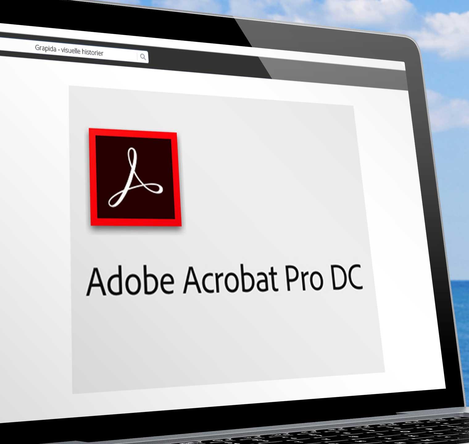 ACROBAT DC: Konsulent arbejde vedr. pdf fremstilling.