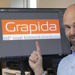 Skal du lave et logo, som fx dette? – Læs herunder hvordan du gør.